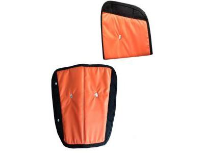 Адаптер ремня безопасности Бумеранг - Оранжевый