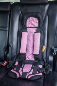 Бескаркасное автокресло Комфорт-Розовое