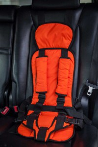 Бескаркасное автокресло Стандарт-Оранжевое