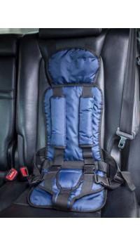 Бескаркасное автокресло Стандарт-Синее