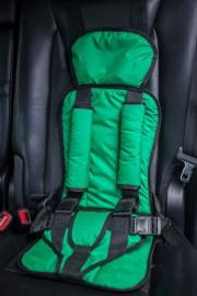Бескаркасное автокресло Стандарт-Зеленое