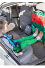 Органайзер на спинку сиденья с защитой от грязных ног