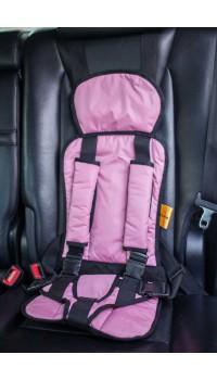 Бескаркасное автокресло Стандарт-Розовое
