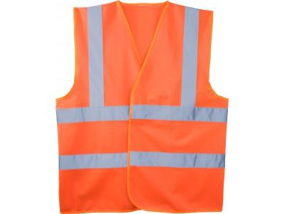 Жилет сигнальный светоотражающий - Оранжевый
