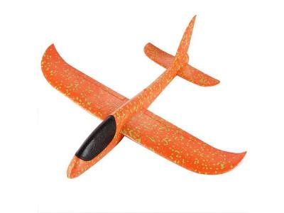 Самолет-планер большой_оранжевый