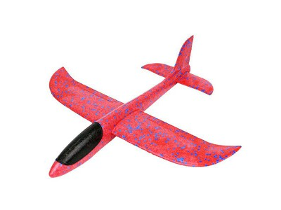 Самолет-планер большой_красный